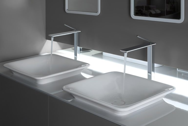 Ftl design gessi badarmaturen for Design armaturen bad